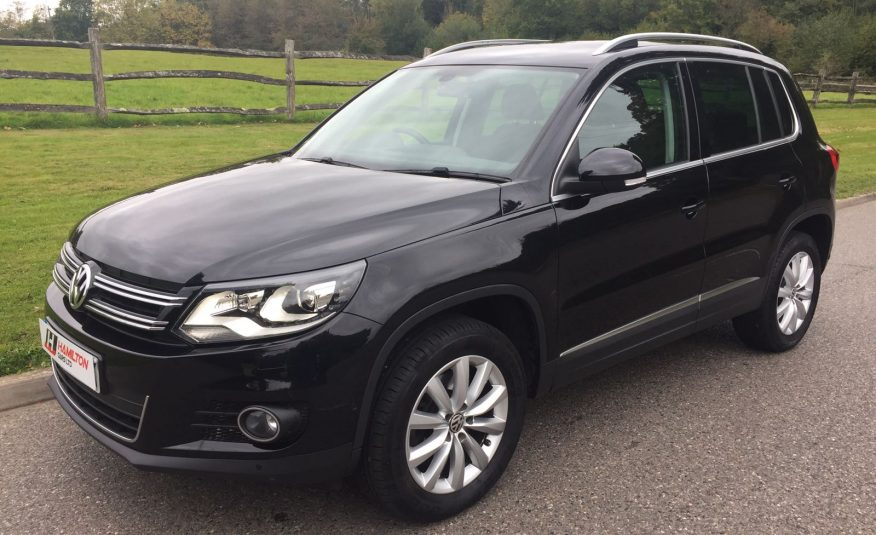 2014 Volkswagen Tiguan 2.0 TDI BlueMotion Tech Match DSG (SOLD)