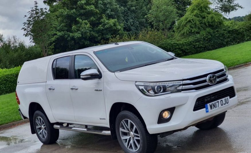 ( CIF £25,450 ) 2017 March Toyota Hi-Lux 2.4 INVINCIBLE 4WD D-4D DCB 148 BHP