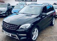 2014/7 Mercedes-Benz M-Class 3.0 ML350 BLUETEC AMG SPORT £20,975
