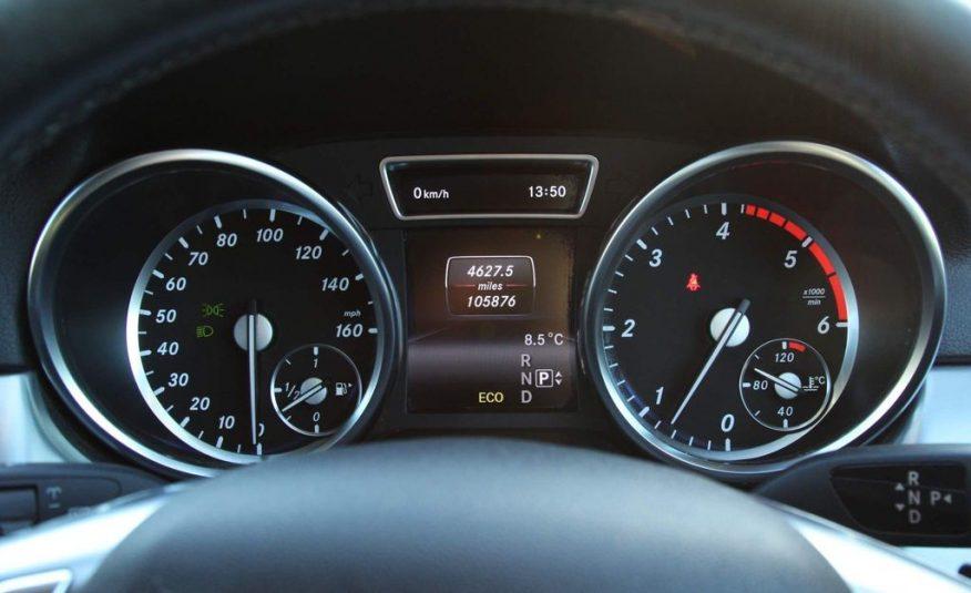 2014/1 Mercedes-Benz M Class 3.0 ML350 CDI BlueTEC AMG Sport £18,750 CIF