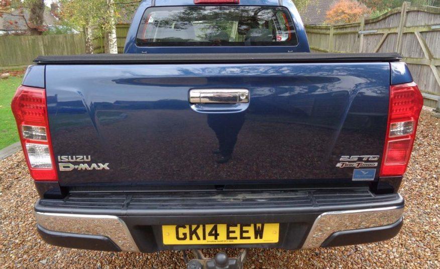 2014/3 Isuzu D-Max 2.5 TD Yukon Double Cab Pickup 4×4 4dr £19,000 CIF