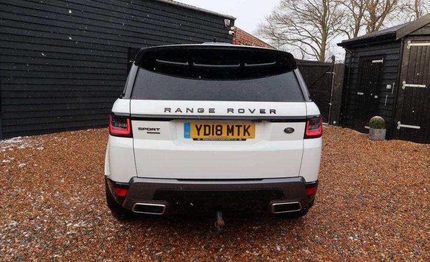 2018/3 Land Rover Range Rover Sport 3.0 SD V6 HSE Auto 4WD £52,000 CIF